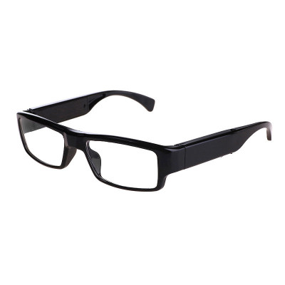 吉力士(JILISHI)微型摄像头高清智能迷你视频录像插卡眼镜骑行拍照眼镜记录仪隐形摄像机微型摄像眼镜户外运动相机