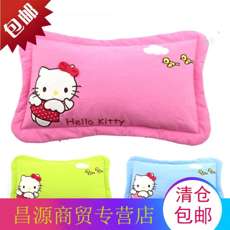 儿童卡通枕头套纯棉枕套 婴儿宝宝学生幼儿园小孩30*50 全棉