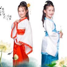 古装儿童汉服衣服男童女童三字经表演服幼儿古典舞蹈弟子规演出服