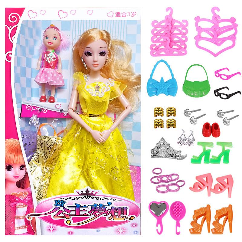芭比娃娃豪宅女孩城堡大公主套装礼盒婚纱梦想别墅洋娃娃儿童玩具郑州哪有卖芭比娃娃的图片