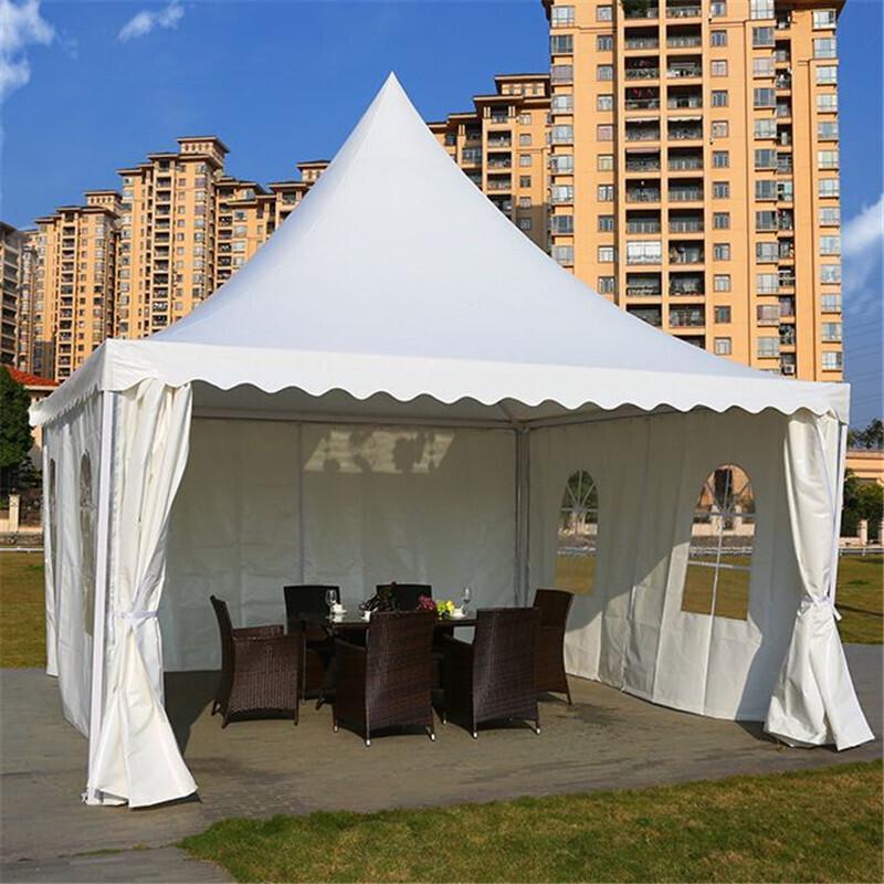 户外广告帐篷婚礼庆影楼展销大型欧式篷房车展活动遮阳棚尖顶帐篷图片