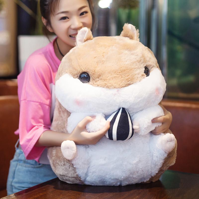 可爱胖布娃娃毛绒玩具抱枕睡觉布偶韩国搞怪女大号空调被
