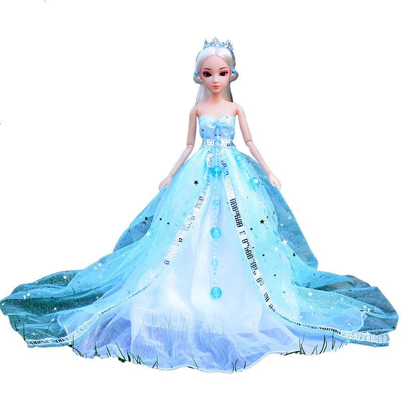 叶罗丽娃娃衣服连衣裙精灵梦孔雀仙子裙冰公主古装扮套装图片