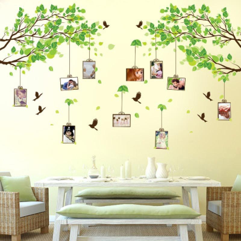 田园相框照片贴画学校文化墙建设教室布置宿舍班级墙贴纸图片
