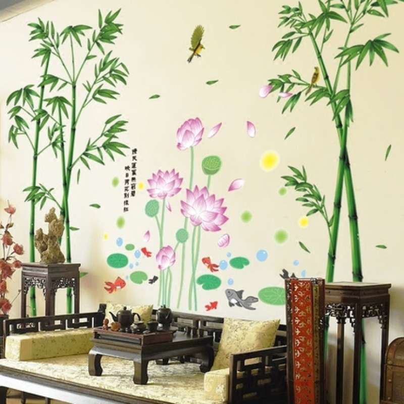 卧室温馨墙贴画贴纸房间室内装饰品客厅电视背景墙海报纸墙画自粘