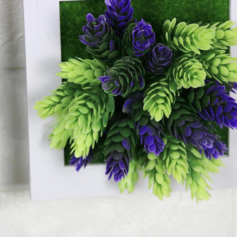 田园风格仿真植物壁挂墙面壁饰客厅墙壁挂墙装饰花挂件墙上装饰品