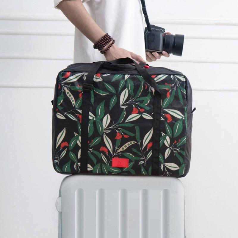 出差折叠旅行包 大容量防水行李包 可套行李箱拉杆旅行收纳袋