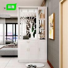 进门玄关柜隔断柜入户鞋柜双面现代简约客厅屏风装饰柜门厅柜酒柜