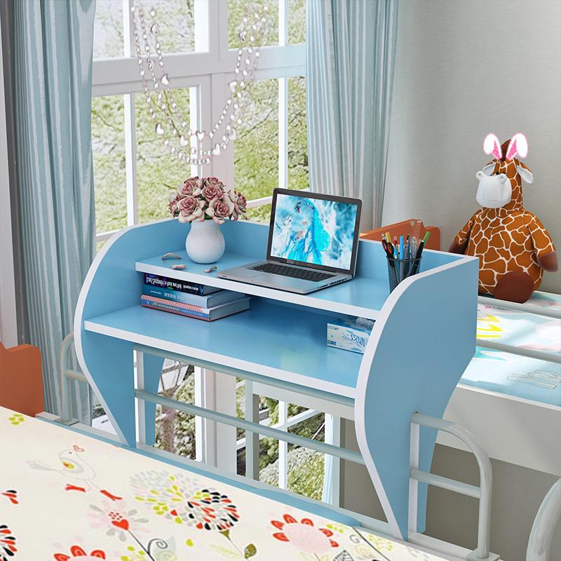 大学生宿舍神器床上用小桌子懒人学习桌寝室上铺书桌笔记本电脑桌图片