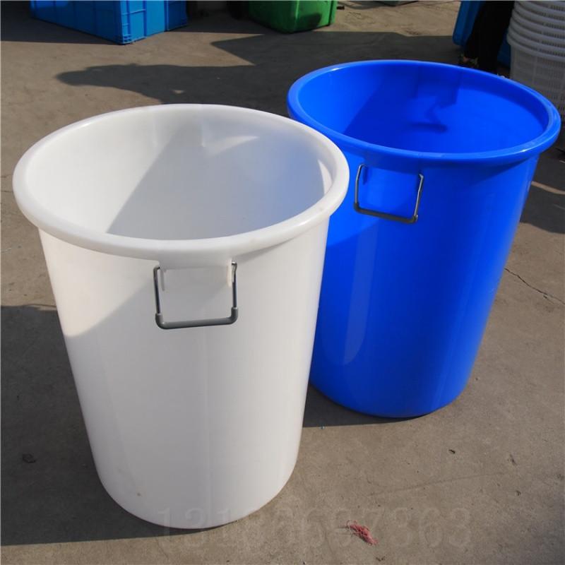 加厚塑料圆桶塑料水桶超大桶圆形垃圾桶食堂用桶米桶带盖桶