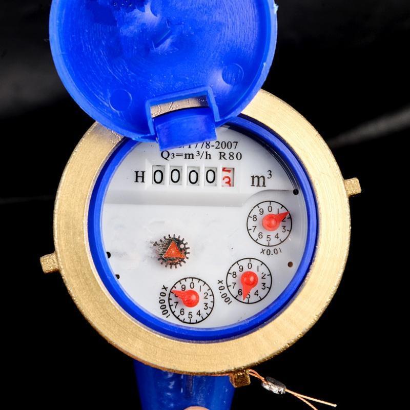 水表精准玄翼式6分防潮止回阀1寸表盘防锈耐酸碱冷水表丝扣1寸图片