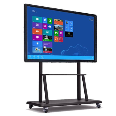 悦华科技 49寸多媒体移动教学会议一体机 触控屏电子白板4K电视智能会议商业显示器Windows系统 可定制安卓系统
