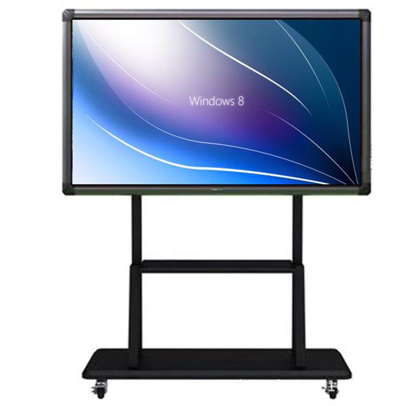 多媒体教学一体机_悦华科技 55寸多媒体移动教学会议一体机 触控屏电子白板4k电视智能