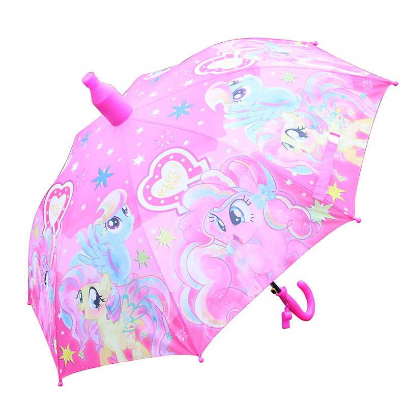 儿童伞女公主防水伞套 小马宝莉幼儿园小雨伞小学生儿童雨伞