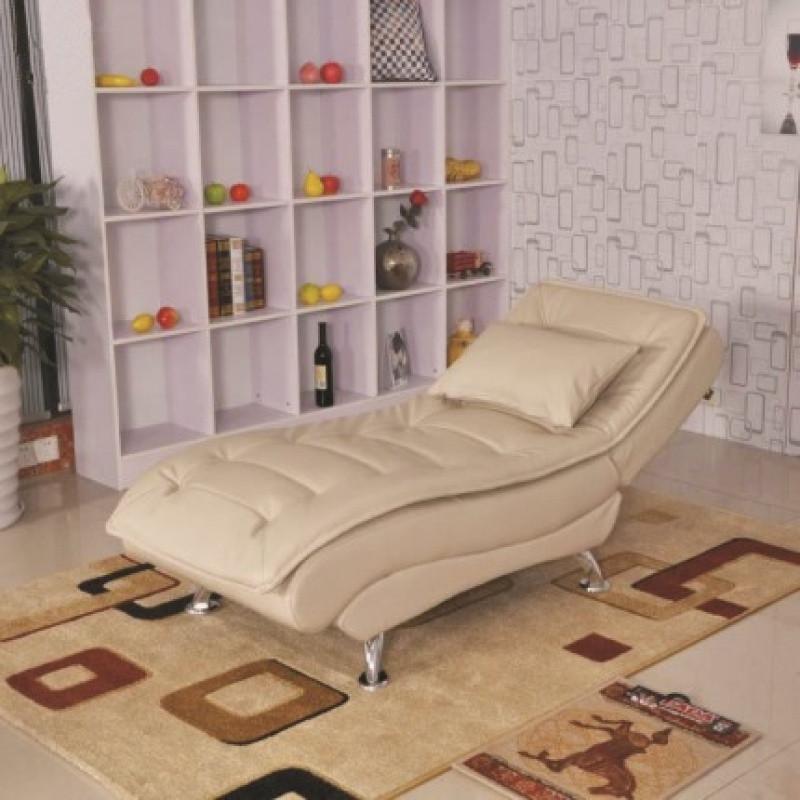 单人实木懒人沙发躺椅小户型客厅阳台卧室午休沙发床可折叠贵妃椅图片