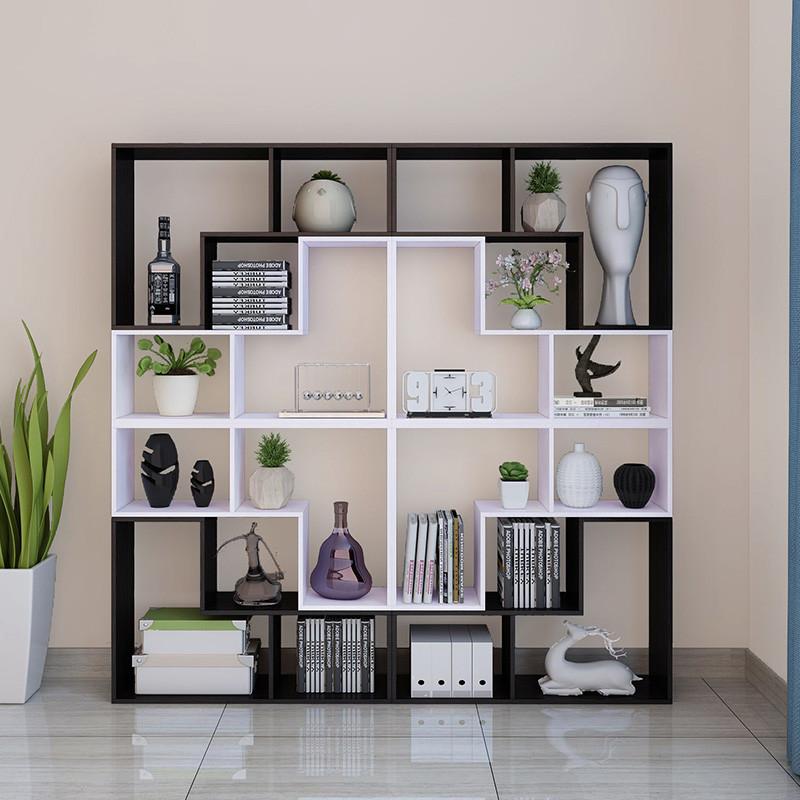 书架客厅玄关办公室隔断柜子落地置物架展示架创意陈列架简约现代