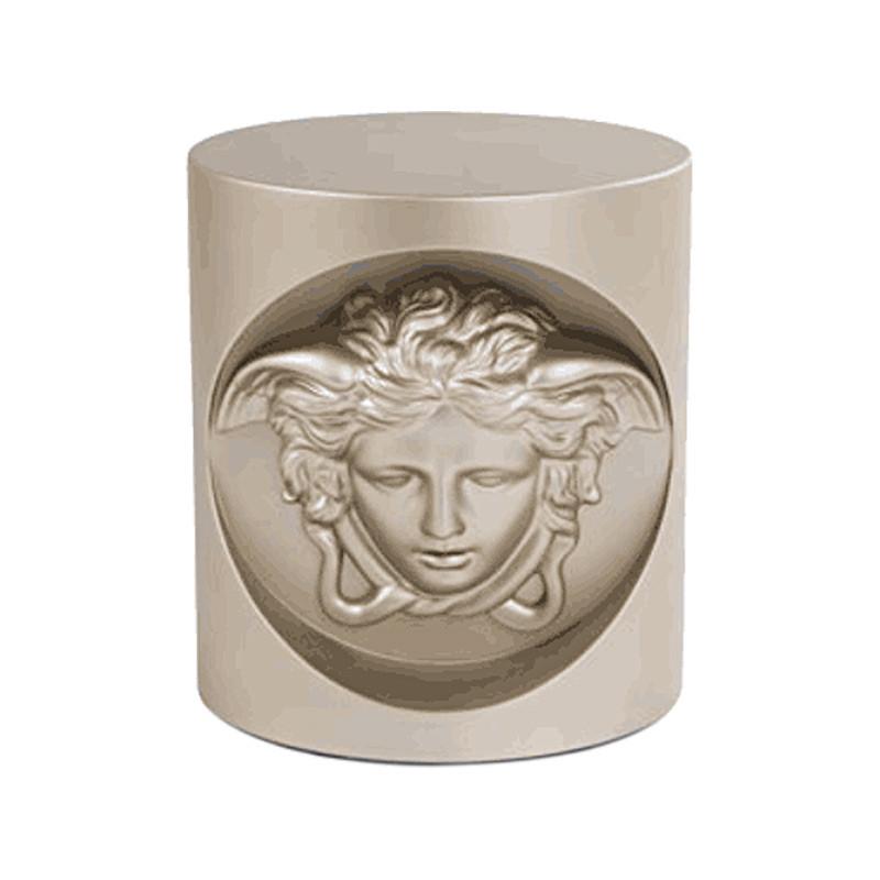 闽威范思哲新款头像角几 装饰凳 设计师 圆形创意咖啡