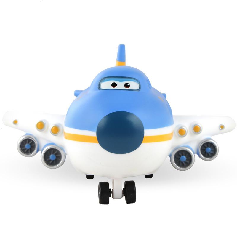 超级飞侠玩具 拼图套装乐迪穿戴故事机迷你版