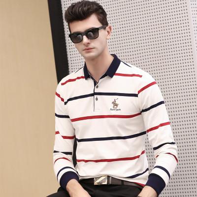 梵蒂加(VENTIGA)ZZT-6693男装上衣2020春季新款男士polo衫衫翻领套头商务绅士男士长袖T恤