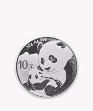2019年熊猫银币纪念币