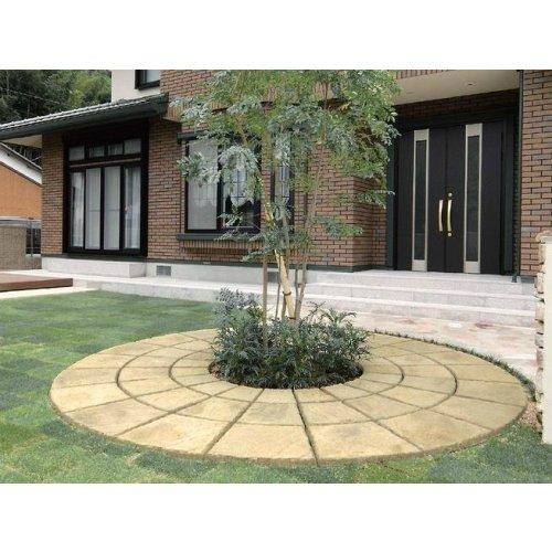 盖茨扇形砖文化石景观砖别墅地砖出口日本砖块铺装材