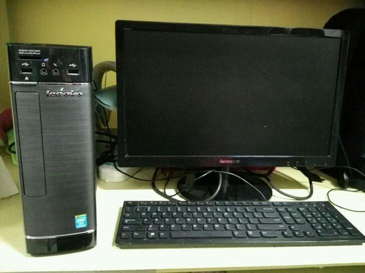 联想家悦s520品牌台式机 台式电脑 小机箱图片