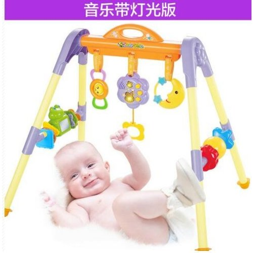 二手贝恩施宝宝多功能健身架宝宝音乐健身架交易