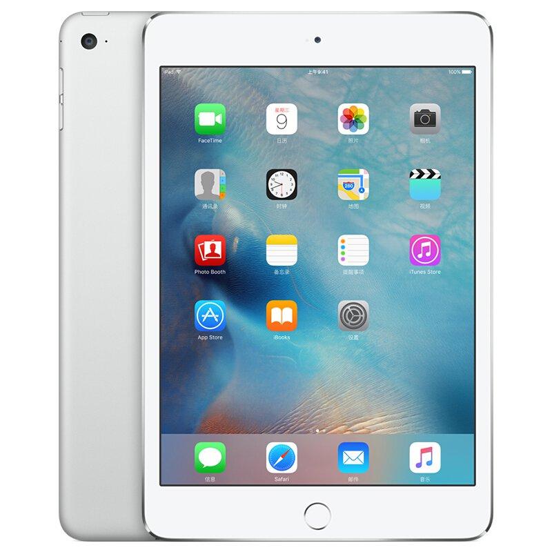 苹果【ipad mini 4】64 g 银色 wifi版 国行 95成新