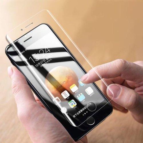 苹果7软性全屏水凝膜iphone7 plus水凝离子膜苹果6 plus前后贴膜