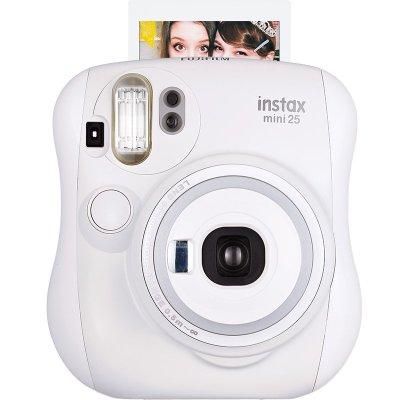 富士(FUJIFILM)INSTAX 一次成像相机立拍立得 mini25相机 白色