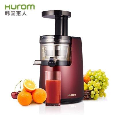 韩国惠人(Hurom)HUZK24FR 原汁机 低速慢榨榨汁机 家用多功能果汁机 HU780升级版