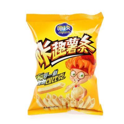 苏宁易购 可比克 咔趣薯条薯香烤原味 45g/袋*1袋自提 0元