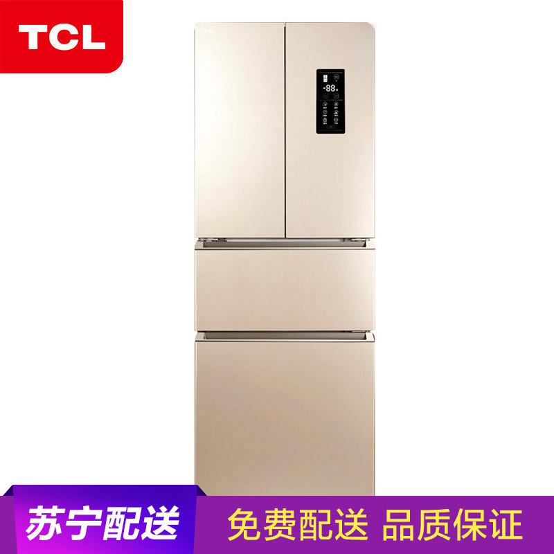 TCL BCD-318WEZ50 318升 风冷无霜 多门冰箱 *2件