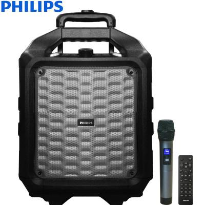 飞利浦 SD75 户外广场舞音箱 便携式拉杆音响 移动蓝牙音箱无线话筒K歌