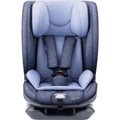 MIBABE汽车儿童安全座椅 QQ666 小米生态链企业(9个月-12岁)靠背调节6挡 绅士蓝