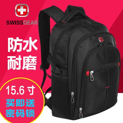 瑞士军刀 新品SWISSGEAR十字系列背包双肩背式SA-0069防水尼龙面料运动休闲包 男 女通用电脑包 旅行包 书包