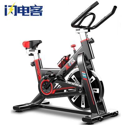 动感单车超静音健身车家用脚踏车磁控式室内运动自行车闪电客健身器材