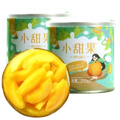 汇尔康(HR) 新鲜糖水菠萝水果罐头 休闲户外零食 425g单罐装