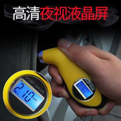 汽车轮胎气压表高精度数显电子胎压计轮胎测压器测压表汽车胎压表