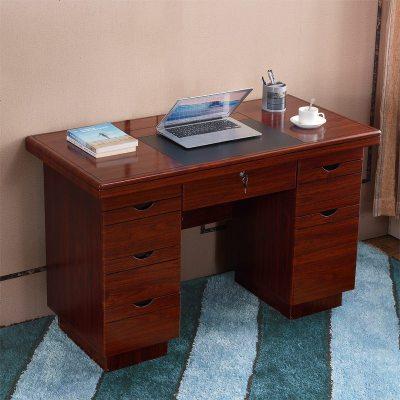 加厚电脑桌桌1.4米老板台1.2米经理桌主管桌办公桌中班台经济型